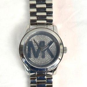 Michael Kors Runway MK Logo Face MK5544 WristWatch